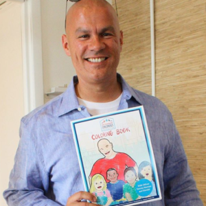 Coloring Book Published By FRCF for Officer Tommy Norman
