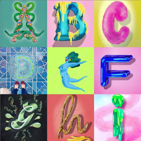 Illustrated Alphabet! A - I