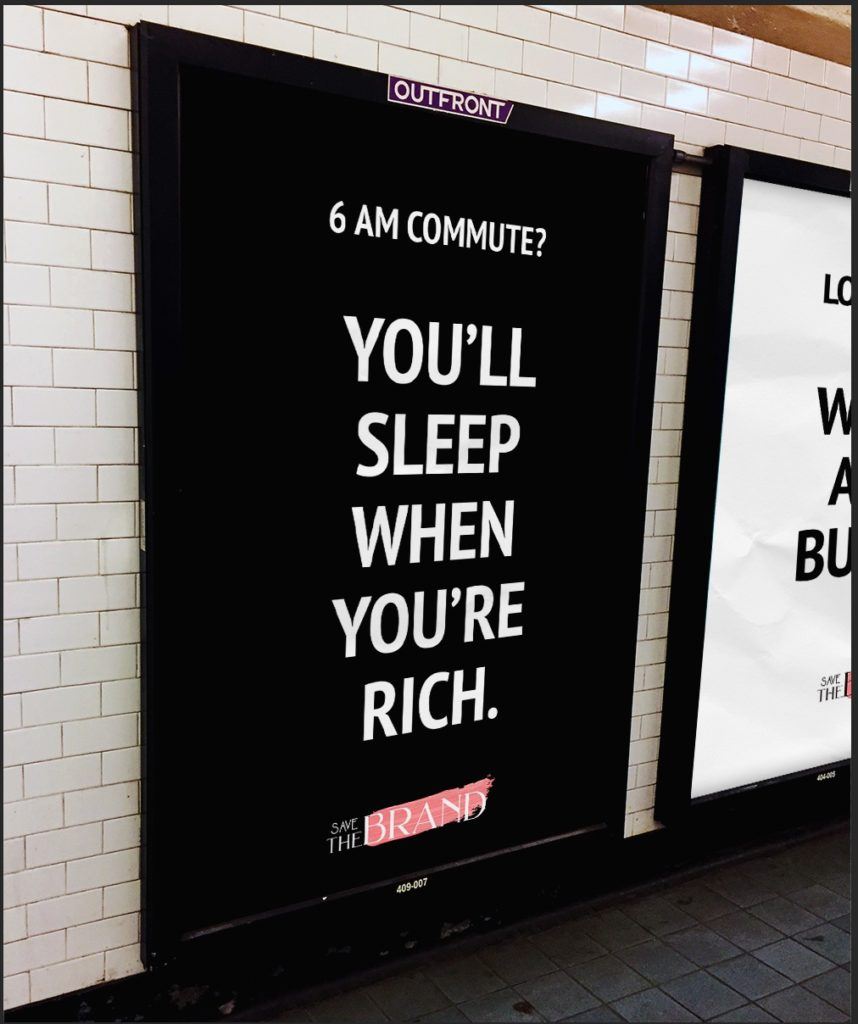 ooh marketing design nyc subway