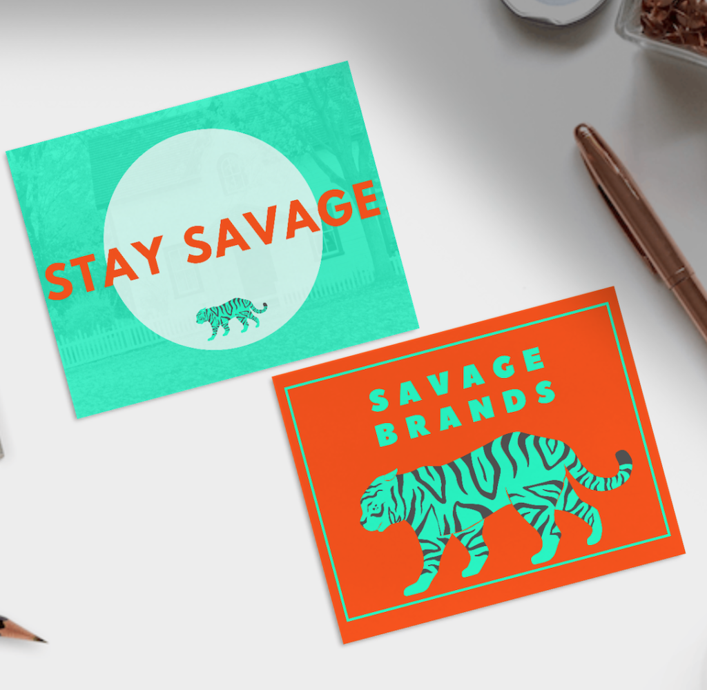 orange and teal trending color combinations