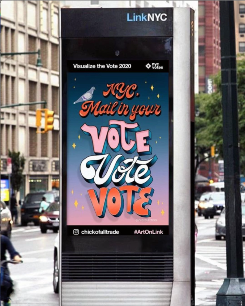 visualize the vote 2020 link nyc